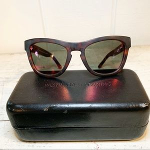 Westward Leaning Pioneer Sunglasses Tortoise Red